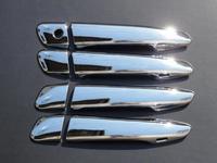 Хромированные накладки на дверные ручки под кнопку для LEXUS RX350 / RX450
