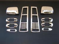 Хромированные накладки кузова, набор для CR-V 96-02г.