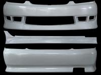 Аеродинамический обвеса, реплика, из стеклопластика FRP, новый на Toyota Mark 2 JZX110. до рестаил