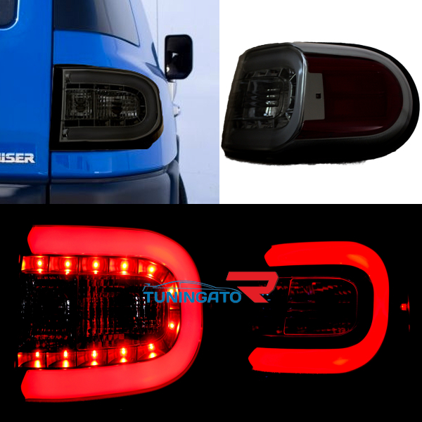 Стоп-сигналы LED дымчатые для TOYOTA FJ CRUISER