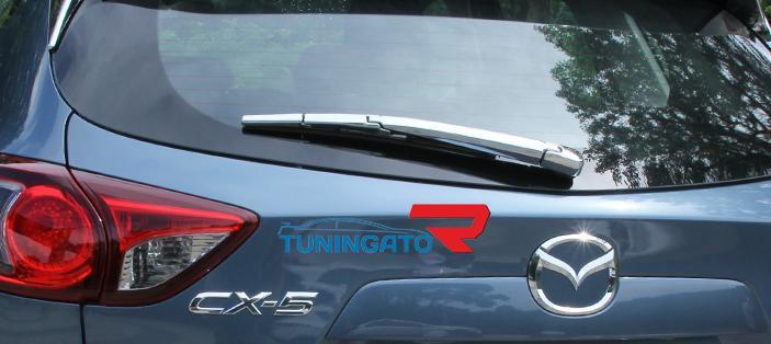 Хром на дворник 5й двери для Mazda CX-5 (2012-)