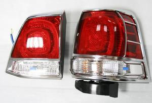 Хром накладки на стоп сигналы 606B LAND CRUISER 200 (07-)