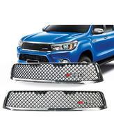 Решетка радиатора TRD хром для Toyota Hilux 2016