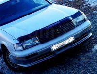 Дефлектор капота, пластиковый, черный, тип2 для Toyota Crown 92-96г.