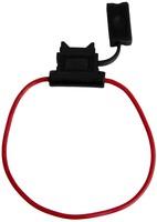 Держатель флажкового предохранителя прямоугольный влагостойкий (16 AWG) FU-AI810C-16AWG