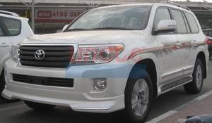 Обвес накладки на бампера Urban Sport Ver.1 для Land Cruiser 2012г.+