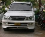 Накладка на передний бампер) 703 CIGNUS (03-)