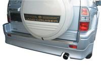Обвес пластиковый (Накладка заднего бампера) 703A LAND CRUISER