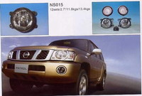 Противотуманные фары в бампер NS075X NISSAN PATROL Y61 (2005-)
