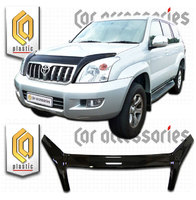 Дефлектор капота для TOYOTA LAND CRUISER PRADO 120 (2003-2010)
