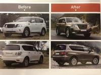 Рестайлинг комплект в 2020г для Nissan Patrol Y62