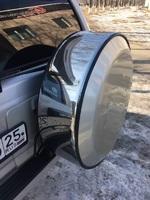 Колпак на запасное колесо стальной на ММС Pajero