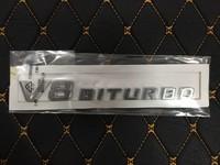 Эмблема с V8 Biturbo Mercedes