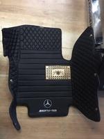Коврики в салон модельные 3D экокожа для Mercedes W463 G500\G63\G55