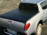 Крышки кузова 3х секционная мягкая для Mitsubishi L200 2007-