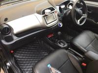 Коврики в салон модельные 3D (черные) Honda Fit\Jazz (2008-2012)