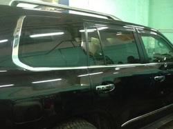 Хромированные молдинги на боковые окна для Lexus LX570 2012-