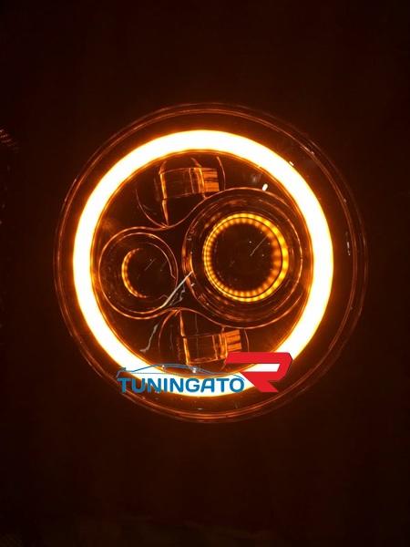 Фары тюнинговые для MMC Pajero 87-90г