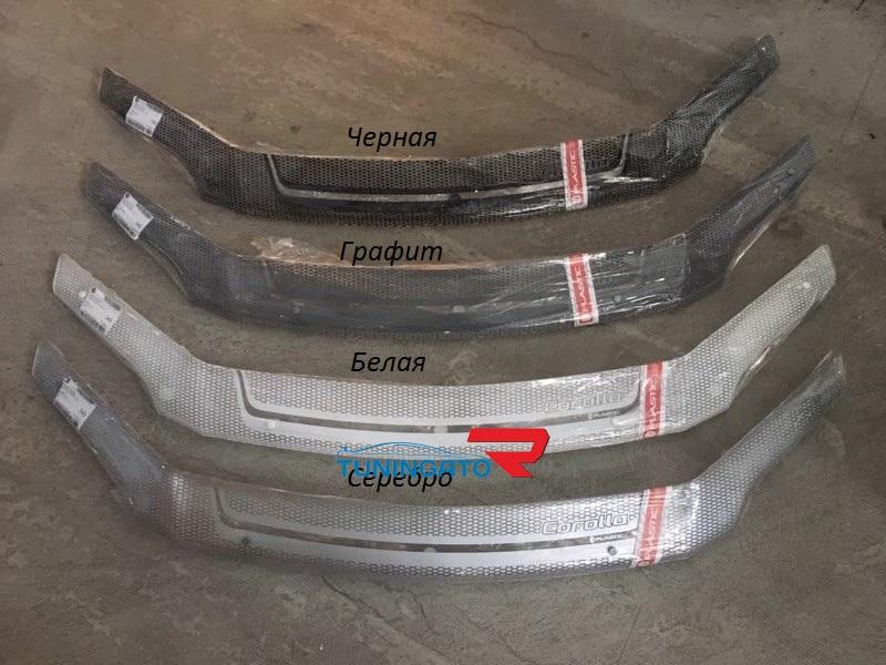 Дефлектор капота (серия ART) для Toyota Corolla Fielder (06-)