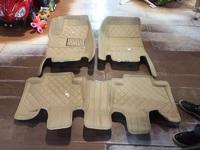 Коврики в салон модельные 3D для Toyota Prado 120
