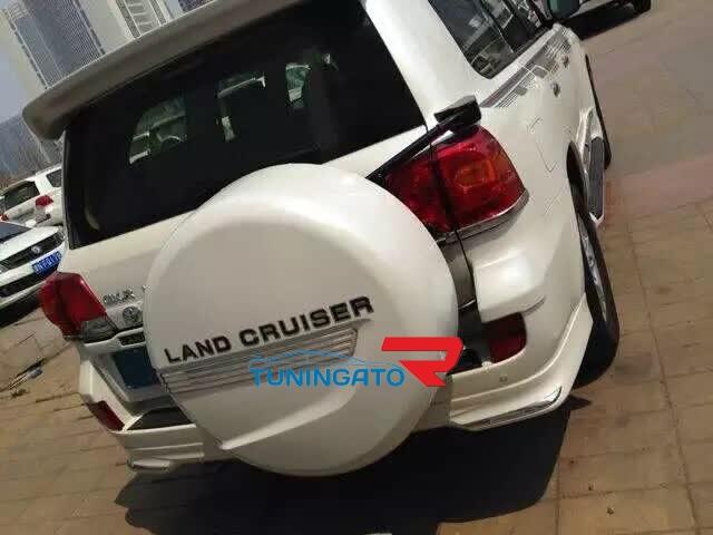 Задняя дверь 5я с креплением под запаску для Toyota Land Cruiser 200 (08-16г.)
