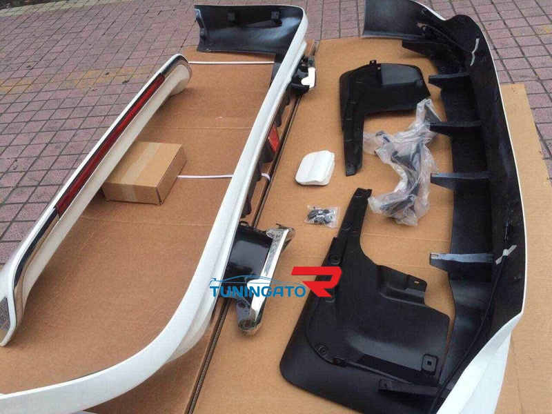 Аэрообвес комплект Sportivy для Land Cruiser 2012г.+