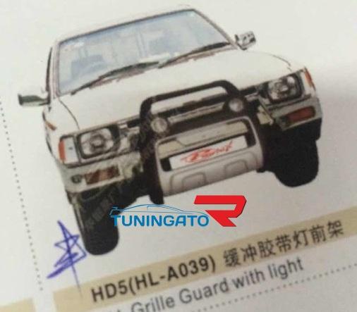 Кенгурятник передний HD5(HL-A039) для TOYOTA HILUX PICK UP (89-)