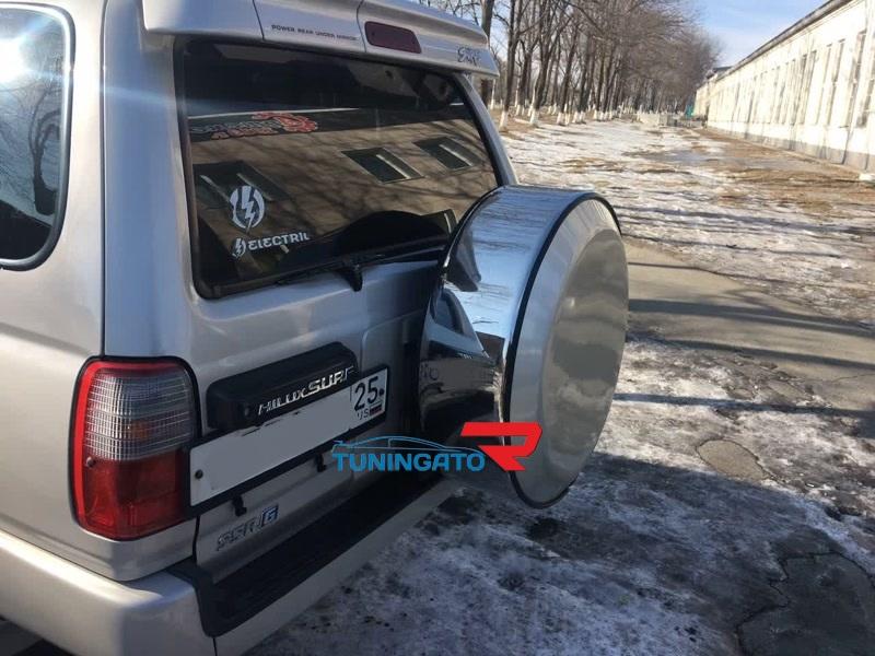 Колпак на запасное колеса стальной для TOYOTA HILUX SURF / 4 RUNNER
