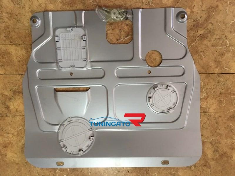 Защита картера (алюминий) 4 мм для Nissan NV200