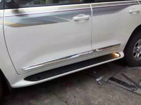 Молдинги на двери хром для Toyota Land Cruiser 2015+