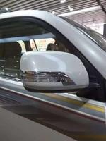 Хром накладки на зеркала для Toyota Land Cruiser 2015+