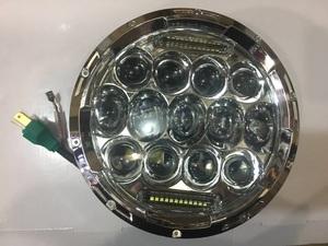 Фары тюнинговые (13 линз) для MMC Pajero 87-95г.