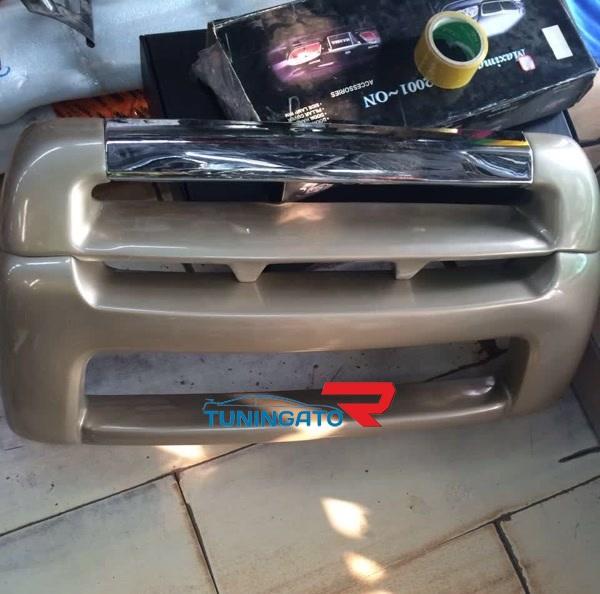 Накладка на передний бампер HD207 для TOYOTA LAND CRUISER 100 (1998-2002)