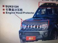 Дефлектор на капот для Suzuki Jimny 98-12г.
