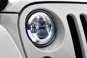 Фары тюнинговые 4 линзы для Toyota FJ Cruiser\ JEEP \ Cruiser 70\ Pajero