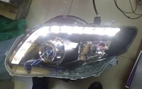 Фары линзовые тюнинг для Toyota Axio 2007+