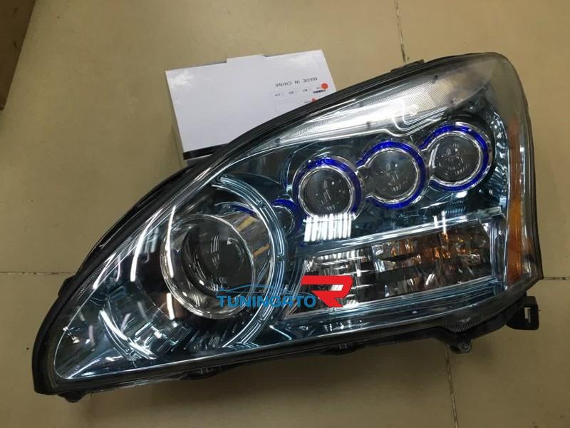 Фары ангельские глазки Lexus RX 03-09 комплект MidWest