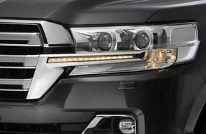Диодная подсветка в стиле LX570 для Land Cruiser 2016+