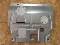 Защита картера (алюминий) 4 мм для Nissan X-trail 2014-