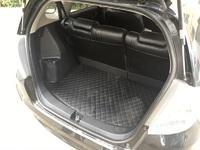 Коврик в багажник экокожа (черный) Honda Fit\Jazz (2008-2012)