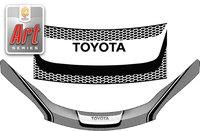 "Дефлектор капота cерия ""Art"" для Toyota Wish 2009-"