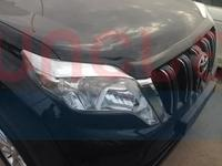 Реснички на фары хром для LC Prado 150 new