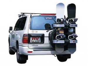 Крепление для лыж/сноубродов на запасное колесо Rear tire mount ski/snowboard rack
