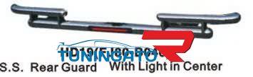 Защита заднего бампера HD19(FJ80-B040) LAND CRUISER 80 (90-97)