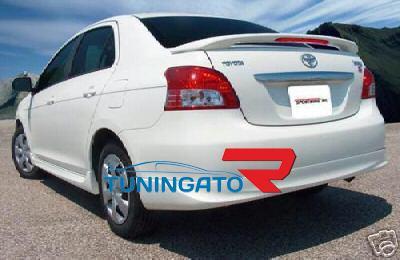 Спойлер задний на крышку багажника Япония TOYOTA BELTA / YARIS / VIOS (06-)