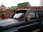 Козырек на лобовое стекло OffRoad для Toyota Prado 7X