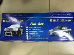 Хромированные накладки кузова Toyota Hilux Vigo 2012-