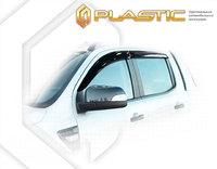 Ветровеки на двери для Ford Ranger 2011-15г Rap Cab