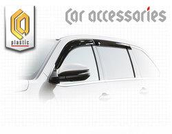 Ветровеки на двери для Toyota Highlander 2014г+