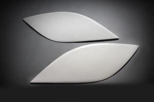Реснички на фары для Vitz 2005-10г